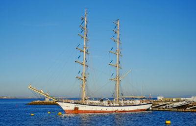 Image of sailing ship.