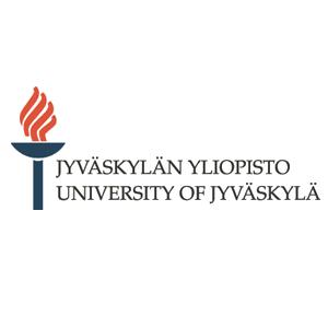 Jyväskylän yliopistos logo with a link to the university's webpage.