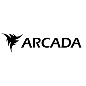 Arcadas logo with a link to Arcada's webpage.