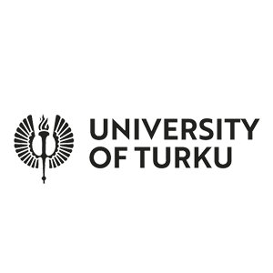 University of Turkus logo with a link to the university's webpage.