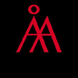 Åbo Akademis logo with a link to Åbo Akademi's webpage.