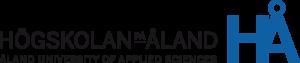 Högskolan på Åland's logo with a link to their webpage.